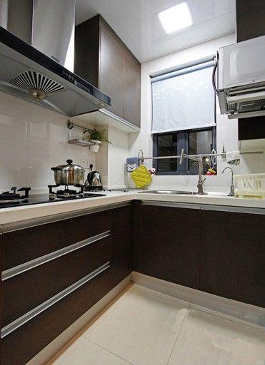 四居室现代简约厨房
