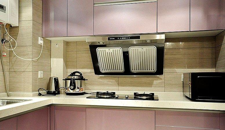 两居室时尚风格厨房