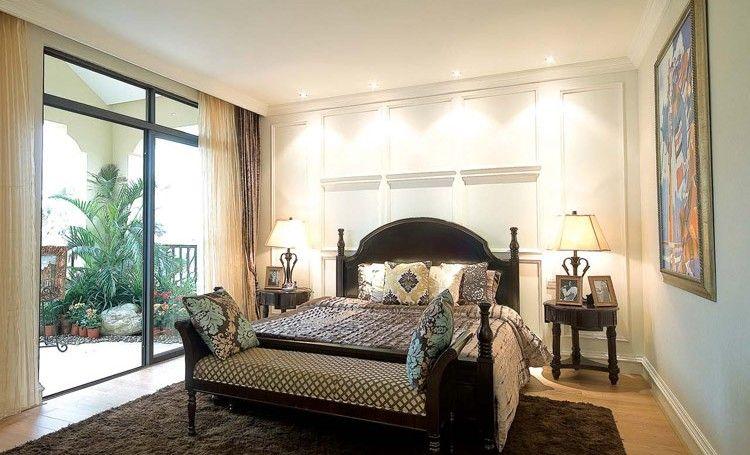 四居室东南亚风格小卧室