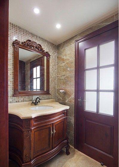 大户型古典风格洗手间