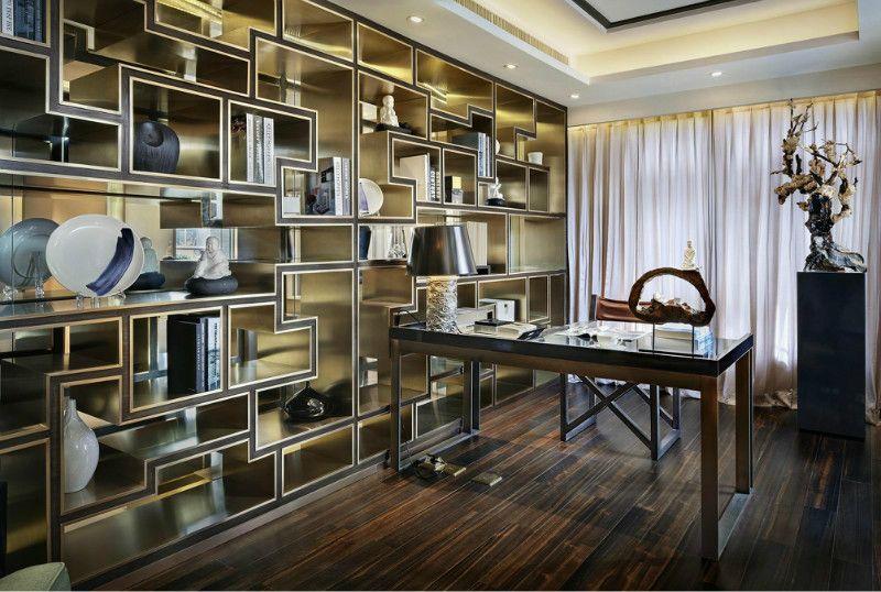 四居室中式風格書房
