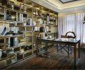 豪华中式书房装修效果图