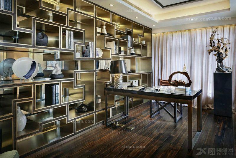 中式别墅设计 中式风格装修效果图图片