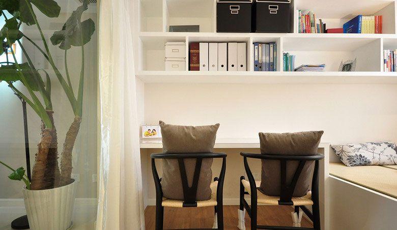 三室兩廳現代風格書房