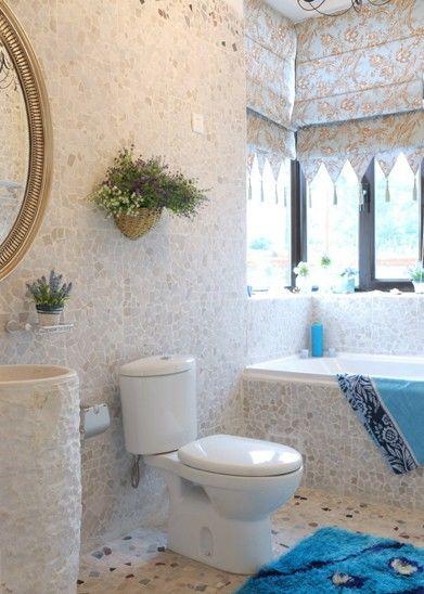 两居室地中海风格卫生间