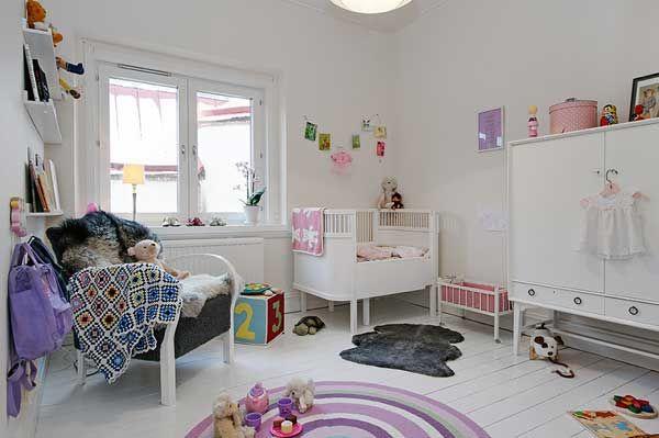 三居室北欧风格婴儿房