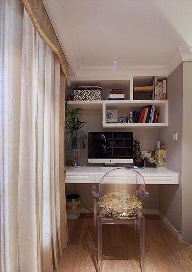 三居室新古典書房