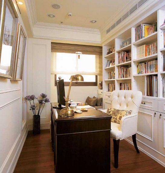 復式樓新古典書房