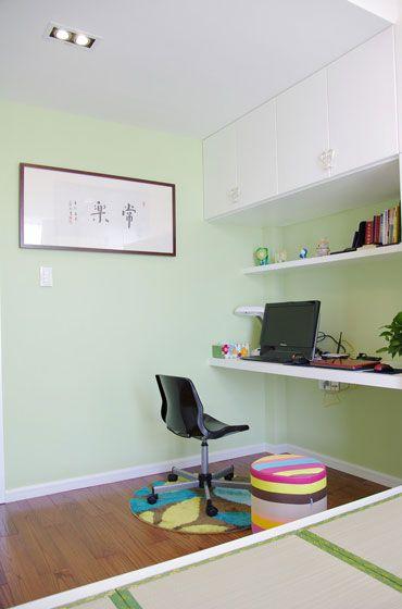 三居室現代簡約書房