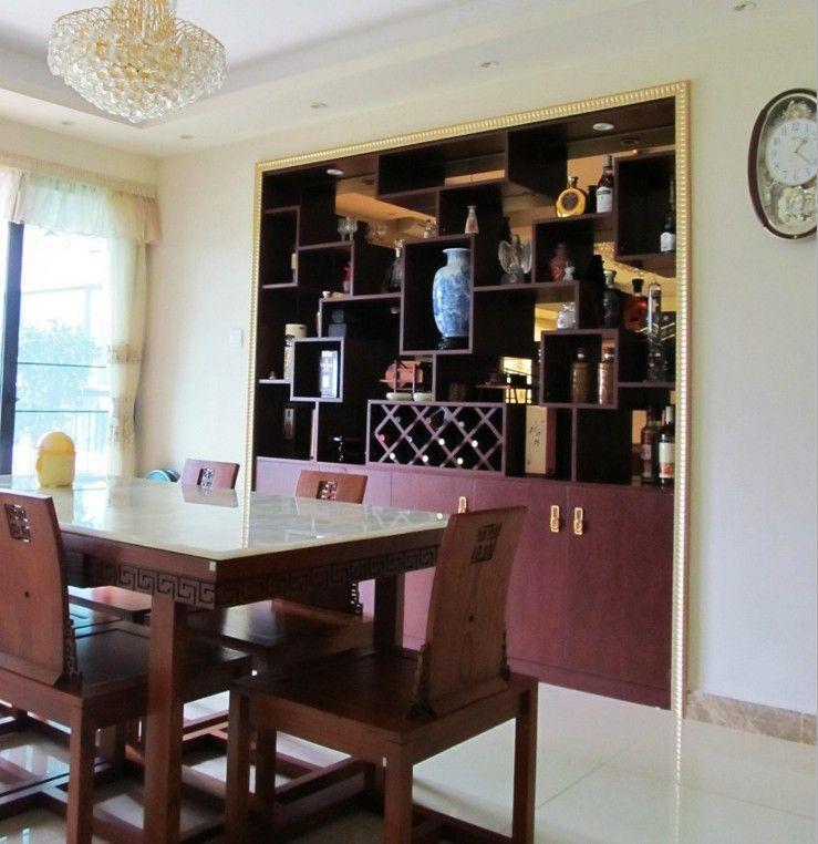 两室两厅中式风格餐厅