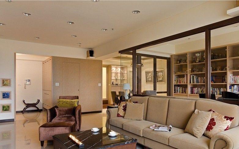 三室两厅简约风格客厅隔断