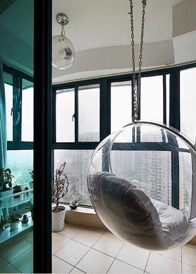 三室两厅现代风格阳台