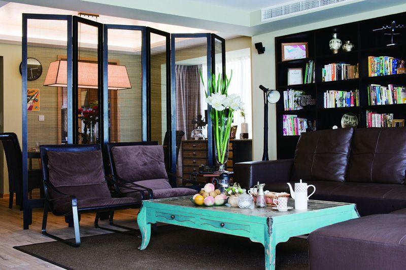 复式楼法式风格客厅
