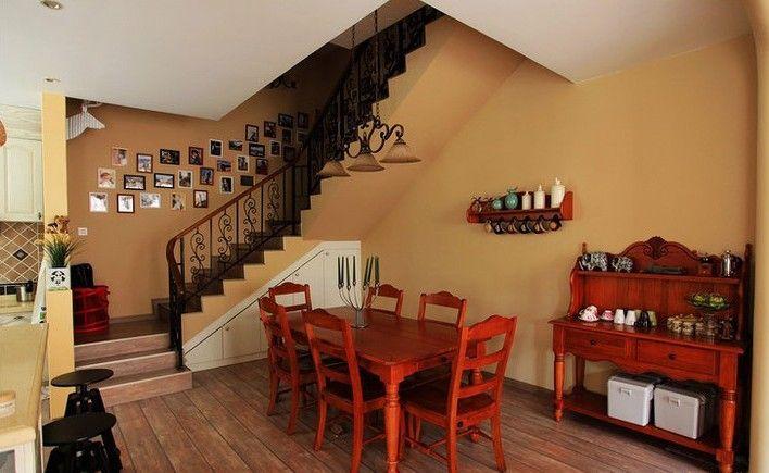 复式楼混搭风格客厅