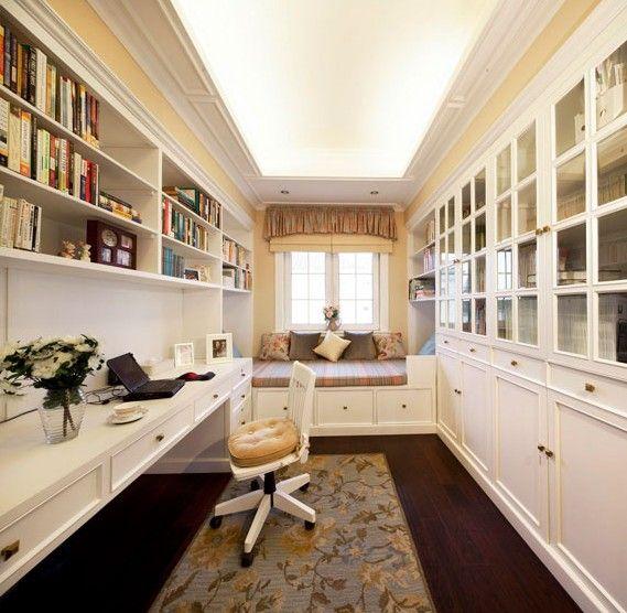 別墅美式風格書房