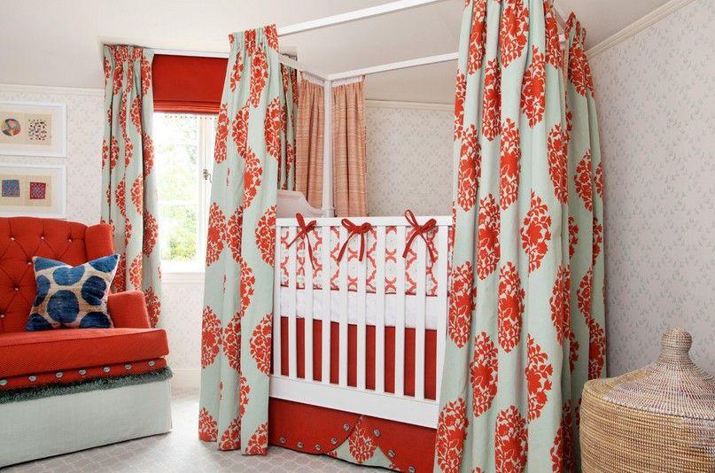 别墅田园风格婴儿房