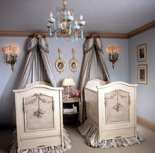 别墅欧式风格婴儿房