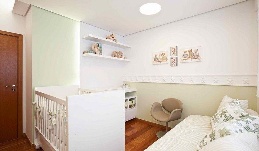 别墅现代简约婴儿房