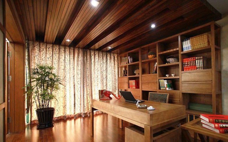 别墅东南亚风格书房