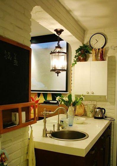 东南亚小户型厨房图装修效果图