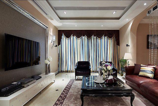 尽享高贵的客厅2装修效果图