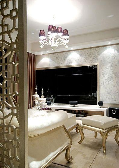 客廳電視背景墻裝修效果圖