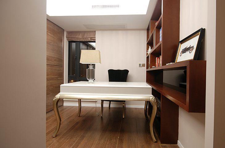 三居室雅致主义书房