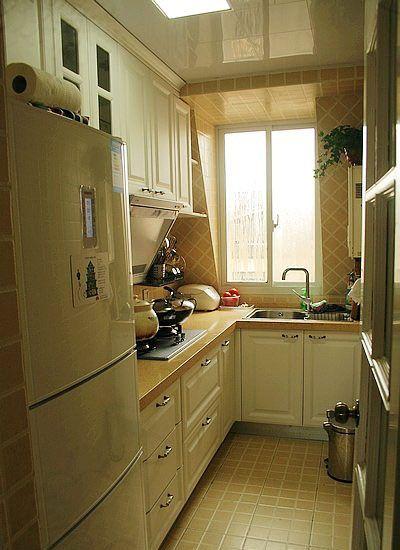 田园风格小厨房装修效果图