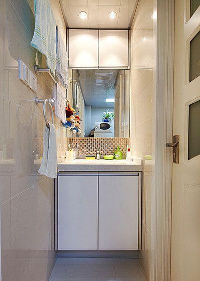 小空间洗手台装修效果图