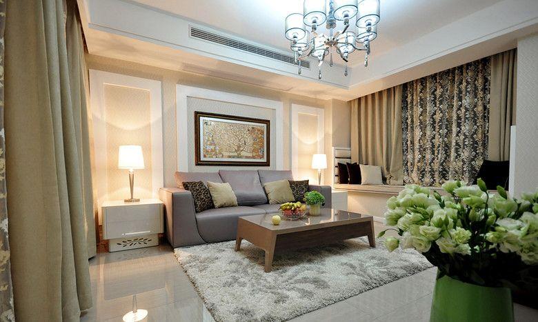 时尚家居客厅装修效果图