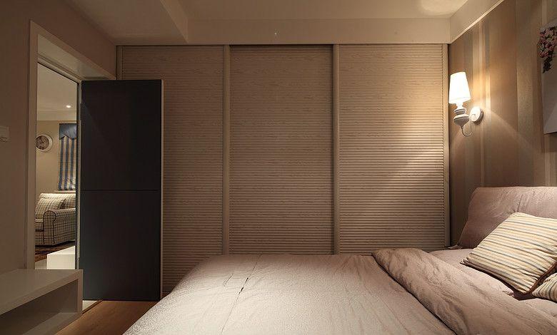 美式卧室衣柜装修效果图