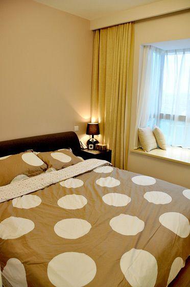 现代简约卧室设计装修效果图