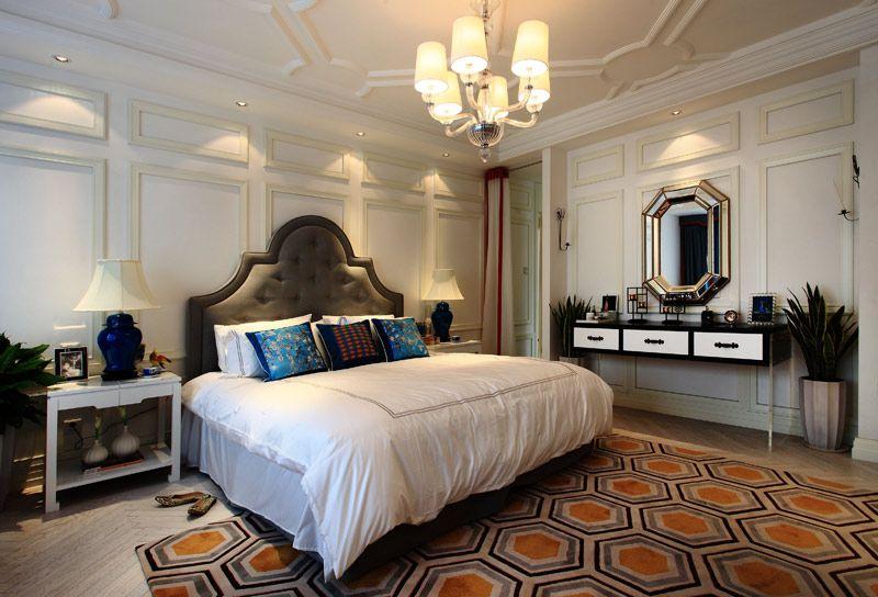 豪华新古典卧室装修效果图