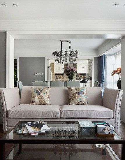 小户型美式风格客厅