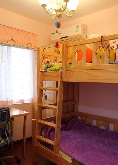 双层儿童床装修效果图