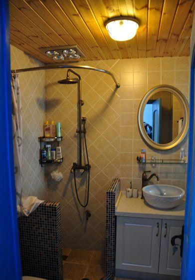 小户型地中海风格浴室图片