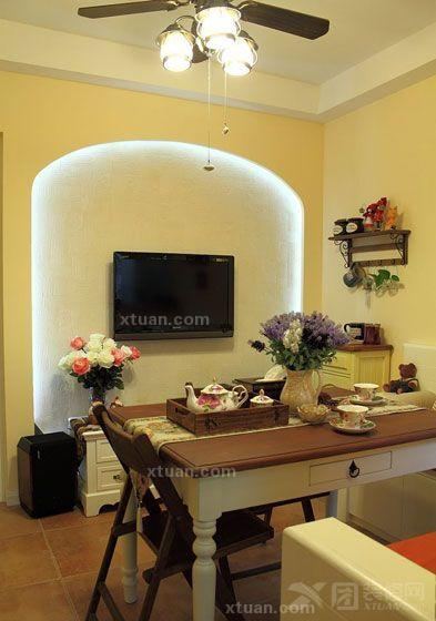 小户型客厅电视背景墙效果图欣赏