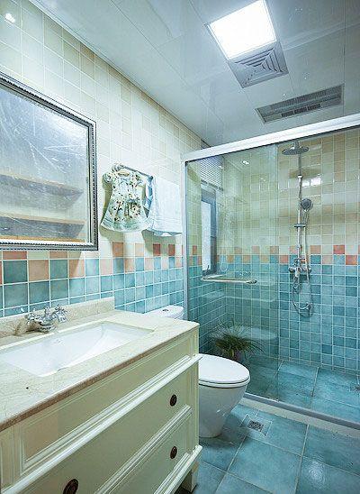 北欧风格卫浴装修效果图