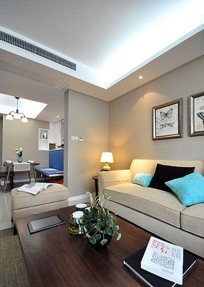 三室一厅现代风格客厅