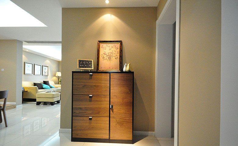 三室一厅现代风格玄关