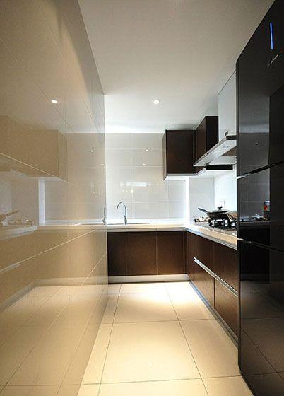 三室一厅现代风格厨房厨具