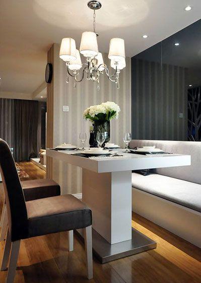 现代风格餐桌2装修效果图