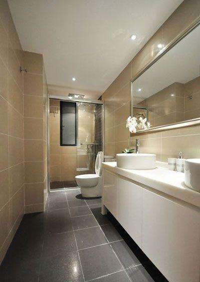 卫浴空间装修效果图