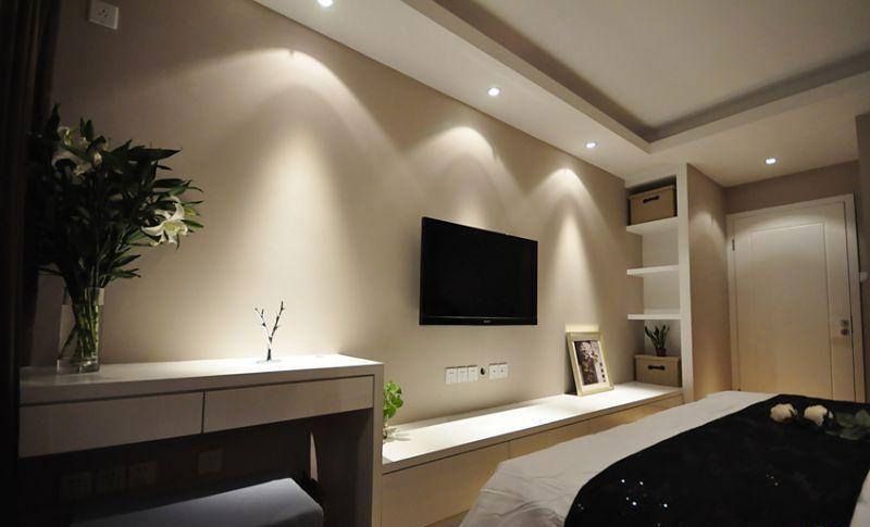 卧房电视背景墙装修效果图