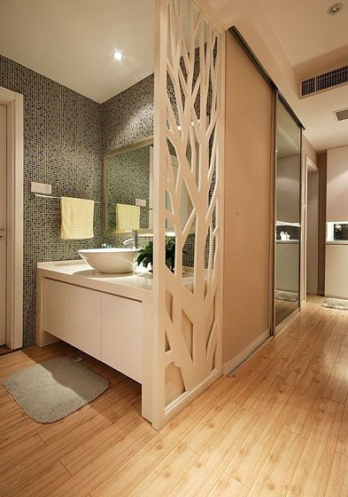 洗手间设计装修效果图