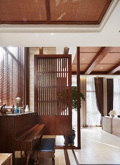 客厅钢琴区装修效果图