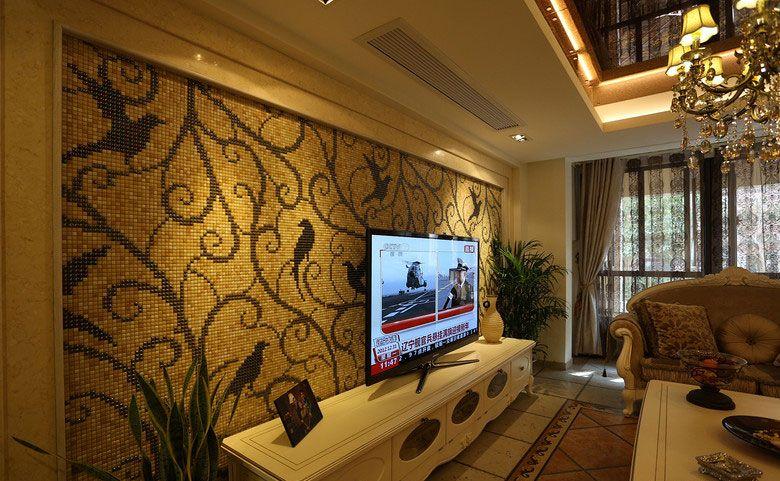 创意电视背景墙装修效果图