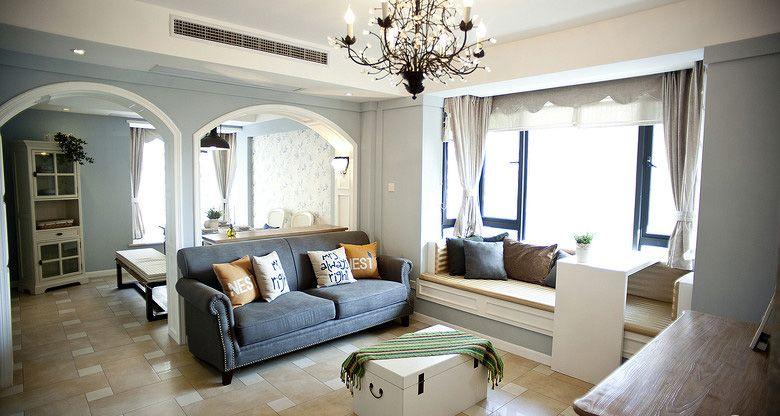 两室两厅法式风格