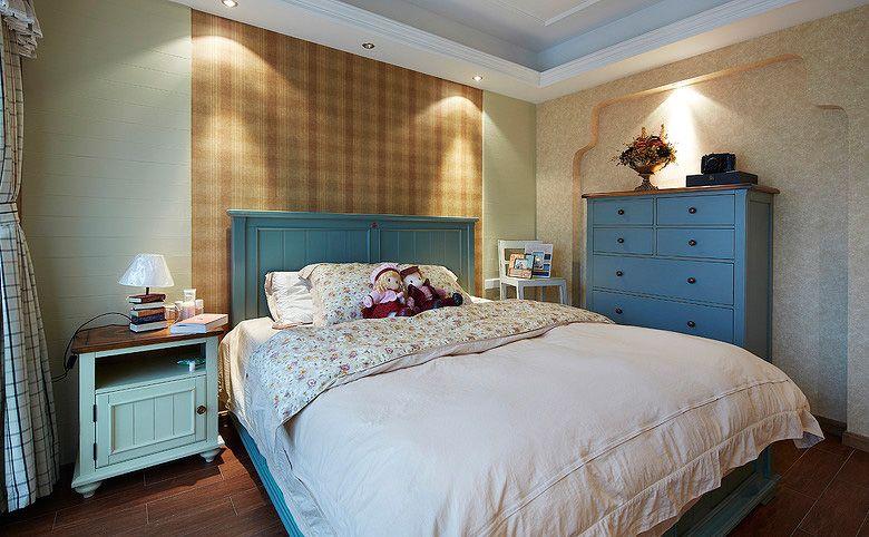 卧室床头背景墙装修效果图