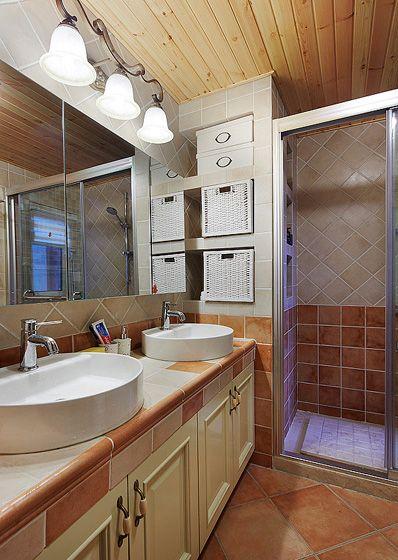 卫生间浴镜装修效果图